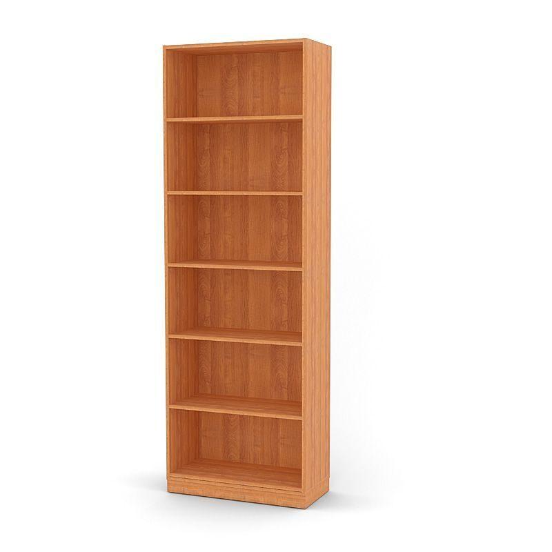 Шкаф-стеллаж для офиса с-1ц, цвет: груша стеллажи.